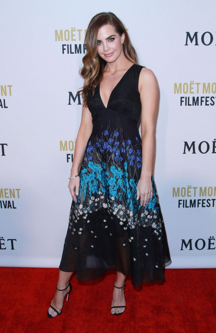Jillian Murray at the 2nd Annual Moet Moment Film Festival, West Hollywood (4 January, 2017)