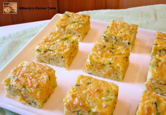 Zucchini And Carrot Slice Gluten-Free Recipe