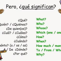 WH- Questions - palabras para hacer preguntas: who, what, where, when, why
