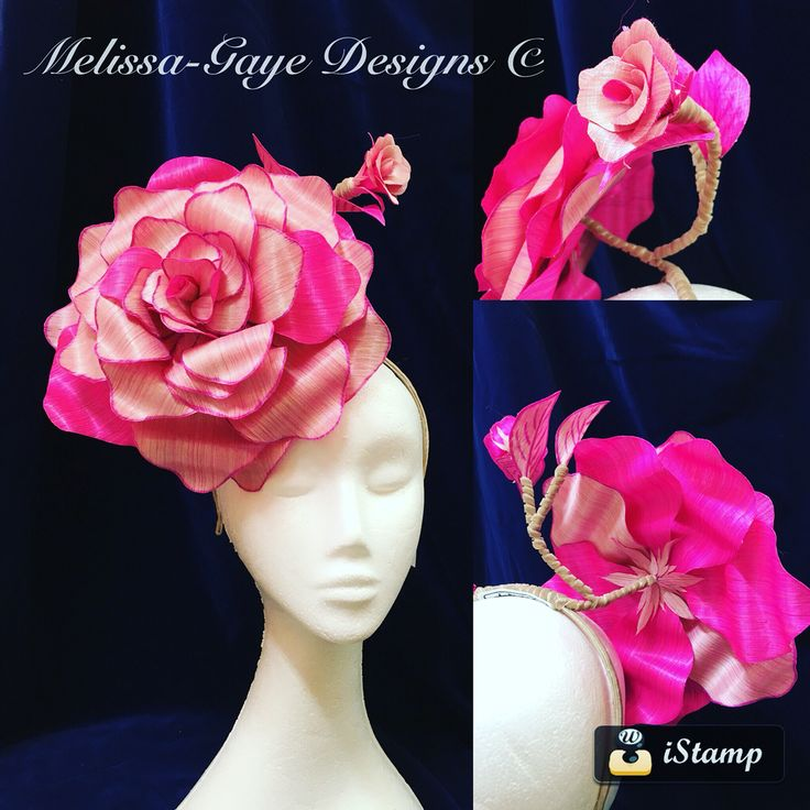 Blooming Amazing Headpiece by Melissa-Gaye Designs. Handmade silk abaca roses on headband https://www.facebook.com/MelissaGayeDesigns #melissagayedesigns #millinery #hats #fashionsonthefield #fascinators #fotf #racewear  #racingfashion #racingstyle #winton #fashionintheoutback #outbackdesigner #outbackmilliner #handmade #milliner #fashion #headpiece #hatmaking #countryracing #springracing #silkabaca #melbournecup
