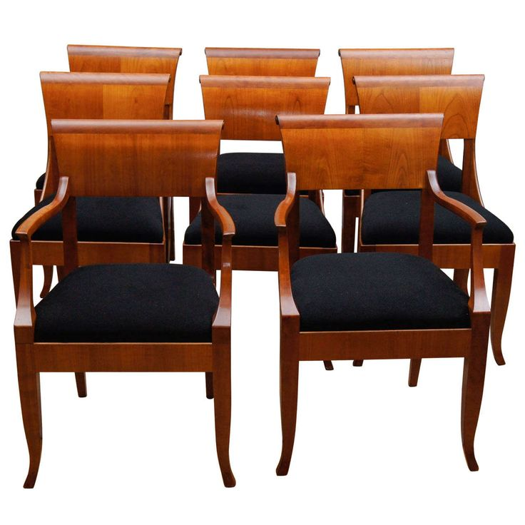 Set of 12 neoclassical style chairs modern dining room for Neoclassical dining room design