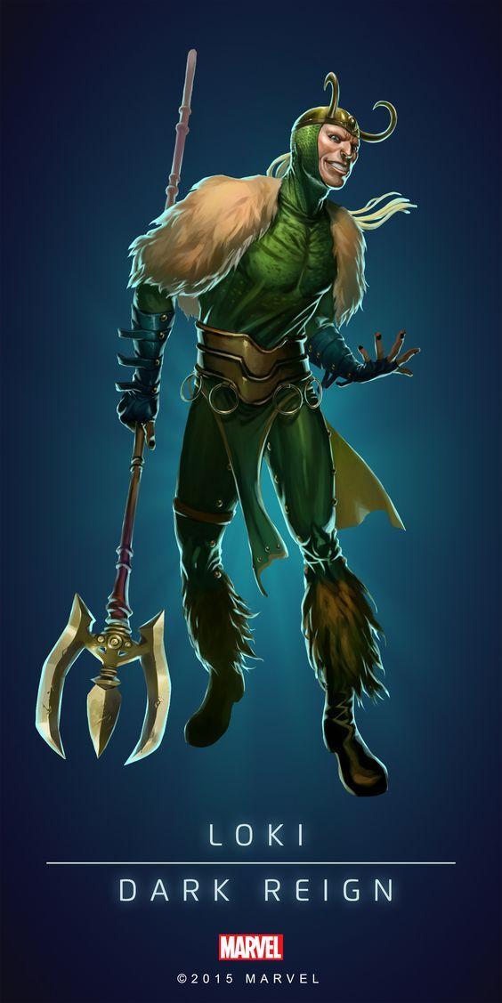 "Marvel Comics: Loki ""Dark Reign"""