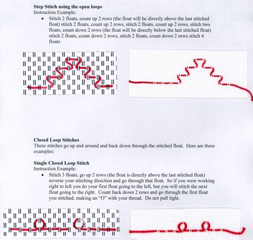Huck Weaving Free Patterns   Swedish Weaving or Huck Embroidery – Sewing, Needlecraft, Thread