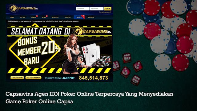 Poker Online Uang Asli Terbaik Capsawins Agen Idn Poker Online Terpercaya Yang Me Poker Game Komunikasi