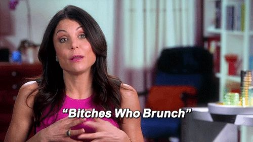 bitches who #brunch