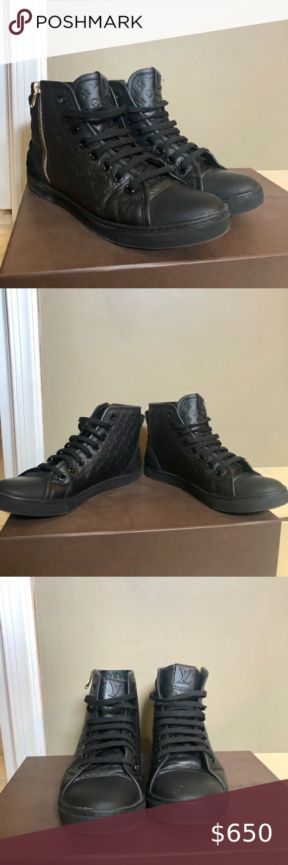 Authentic Louis Vuitton women's converse sneakers in 2020 ...