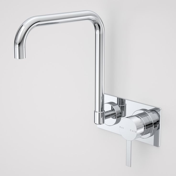 Liano Wall (kitchen/laundry) Sink Mixer  http://www.caroma.com.au/bathrooms/mixer-taps/liano/liano-wall-sink-mixer