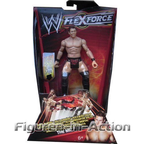 WWE W FLEXFORCE Do a Dropkick! Back Flippin' The Miz by MATTEL. $21.99. Just pull your The Miz FlexForce figure's head down and release to recreate his signature move. Collect all your favorite WWE superstars (Sold separately). Reenact these moves and more with FlexForce action figures. Now your favorite WWE action figures can deliver match-ending finishing moves. Bring home the officially licensed WWE action. Kick up the wrestling figure action with World Wrestling Ente...