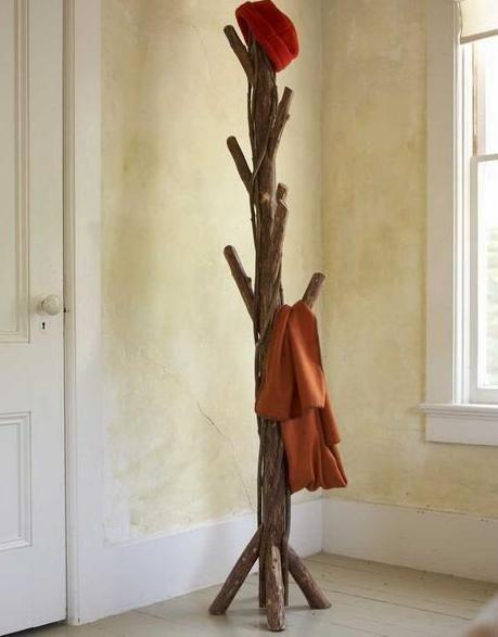 Home Decor, Diy Tree Coat Rack Storage Organization Freestanding Coat Rack  With The Smart And
