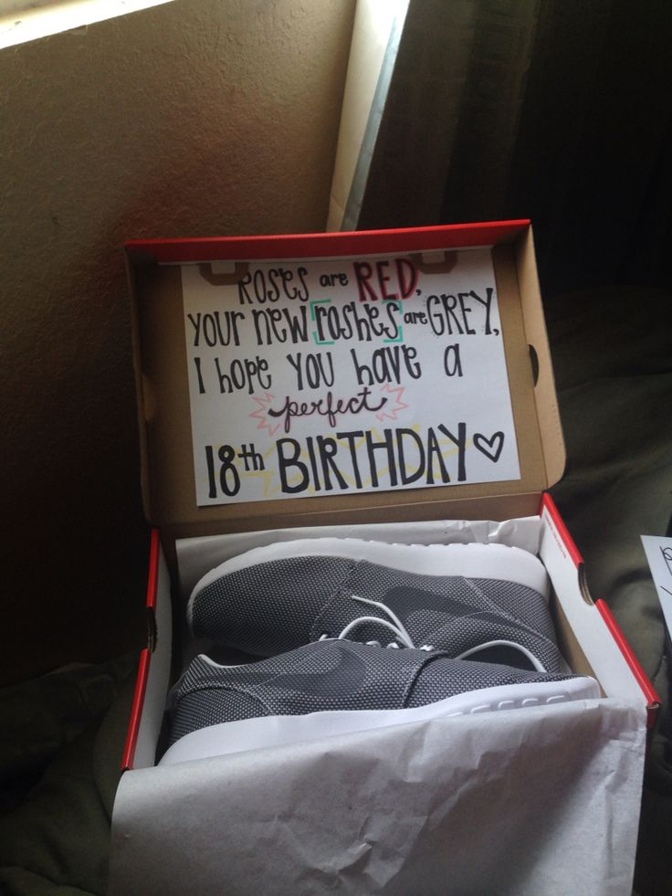 Cute Birthday Present Idea