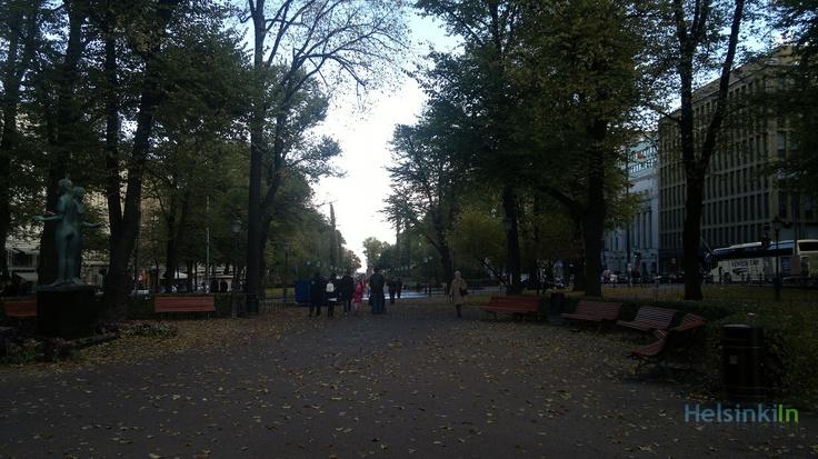 Esplanadi in October 2012