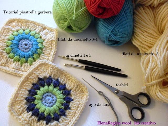 144 besten Crochet piastrelle Bilder auf Pinterest   Tagesdecken ...