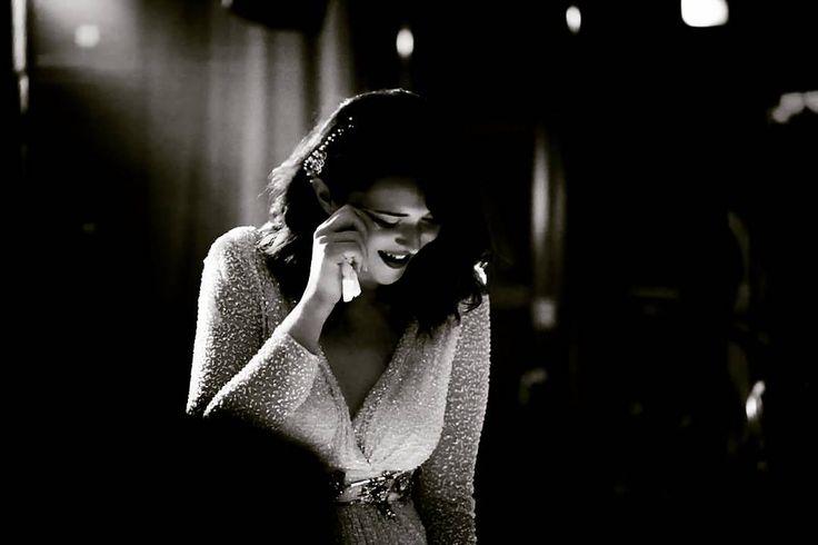 Happy tears. They do exist.  #teoriazambetului #ilovemyjob #weddingday #emotions #tears #joy #pure #happiness #fortunate #love #glam #vintage #waves