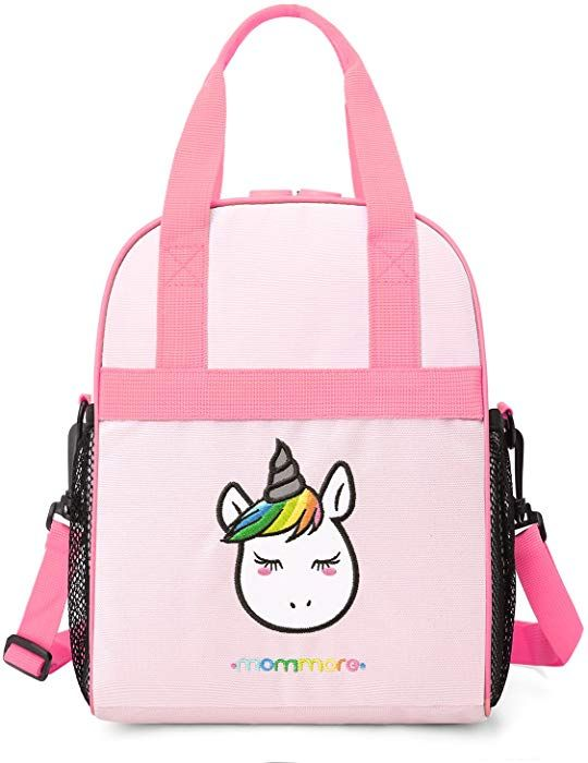 Amazon.com  mommore Portable Unicorn Lunch Bag for Kids Insulated Lunch  Tote Bag dc313de0ffe22