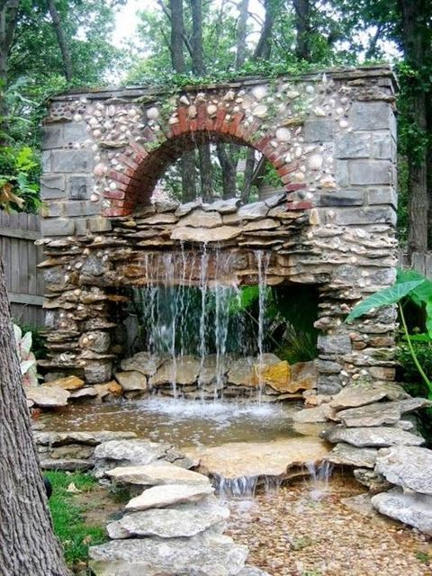 Backyard Fountain Ideas backyard water fountains ideas pleasant water fountain backyard 15 home garden designs landscaping with water fountains 25 Best Ideas About Garden Fountains On Pinterest Diy Fountain Diy Water Fountain And Garden Waterfall