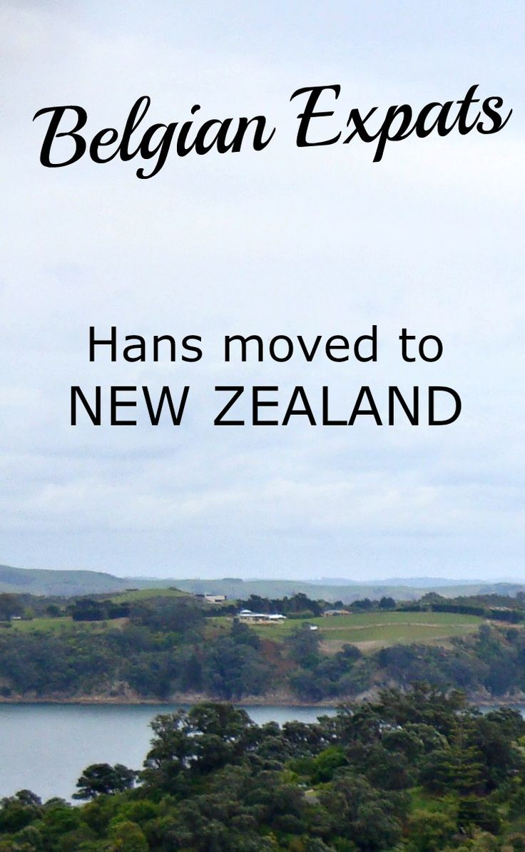 Belgian Expats: Hans moved to New Zealand.