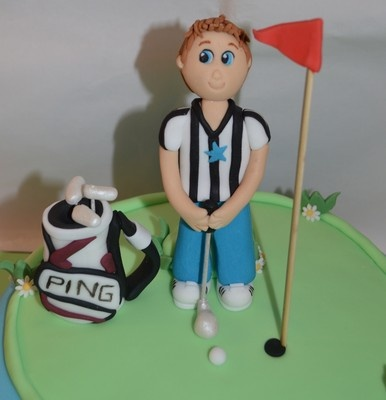 Boy Cake Toppers