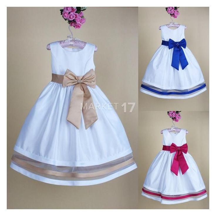 Sháníte dětské šaty na fotografování či společenskou akci? Již shánět nemusíte! Tyto krásné dětské letní šaty s vysokým pasem a ozdobnou mašlí udělají princeznu z každé holčičky.