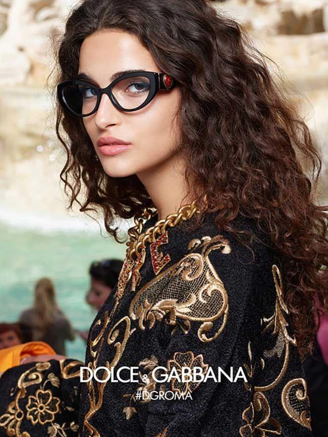 bcaada64077f Dolce   Gabbana Eyewear Fall Winter 2018 2019 Ad Campaign.  dolcegabbana   women