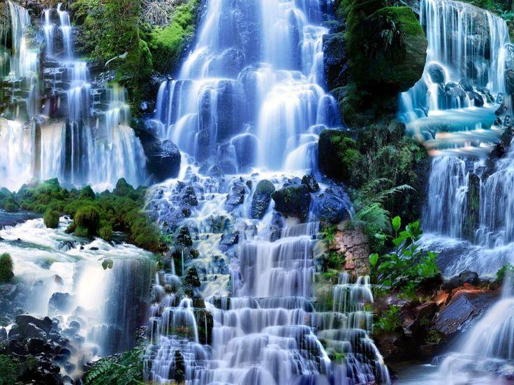 Wallpaper: Waterfalls Scenery Wallpapers