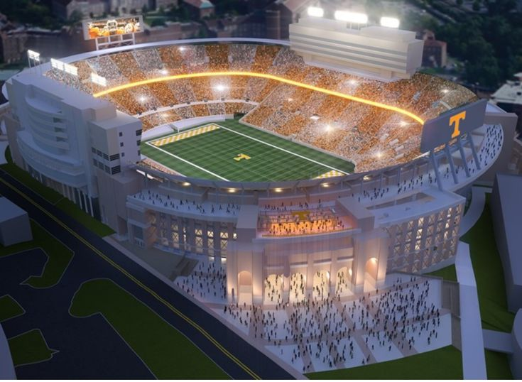 A Look at the Finalized Neyland Stadium Renovations | Rocky Top Insider