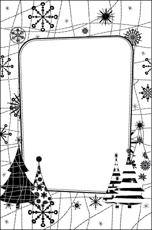Crafts Too Embossing Folder -snow tree | eBay