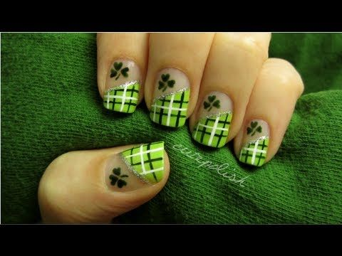 St. Patrick's Day Nails ♣