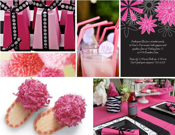 Great idea for a Modern Sleepover for girls.  Visit www.thecelebrationshoppe.com