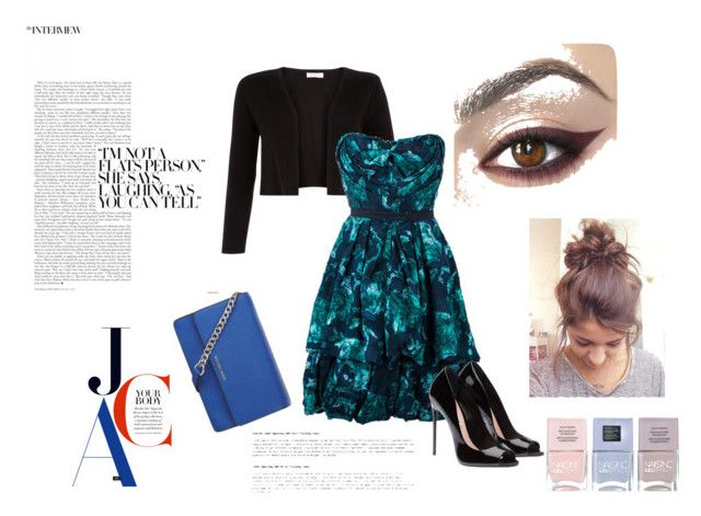Blue by nefertiti001 on Polyvore featuring Louis Vuitton, Monsoon, MICHAEL Michael Kors and Nails Inc.
