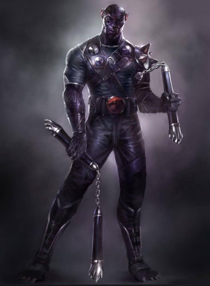 vshen's Thundercats Redesign: Panthro