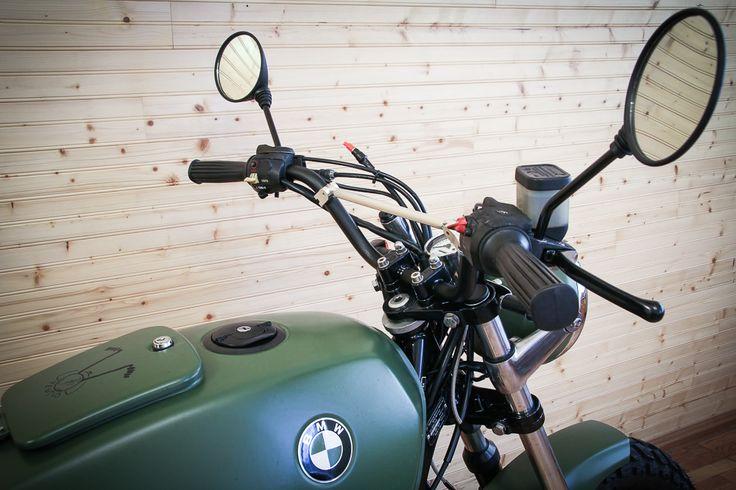 BMW R65 handlebar