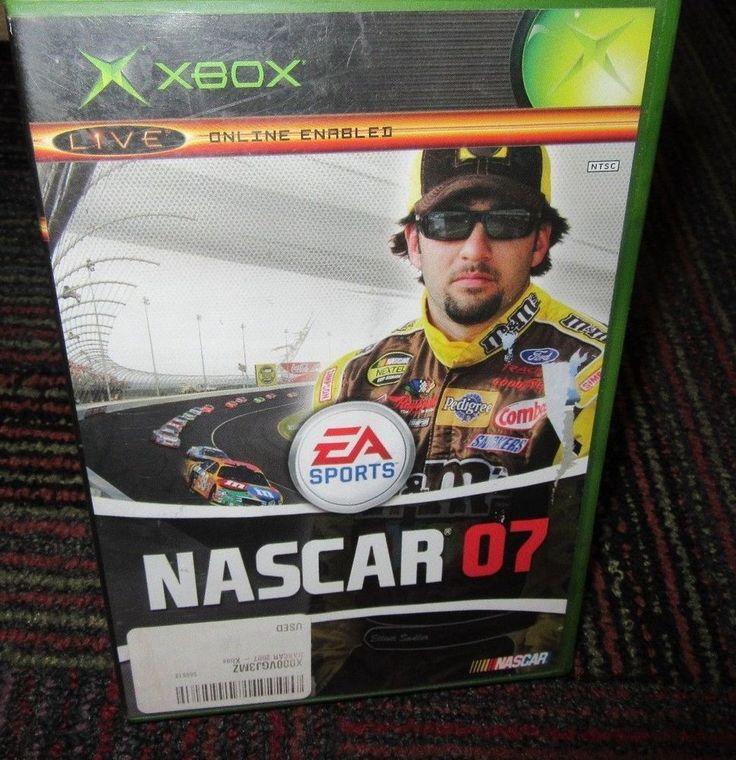 NASCAR 07 GAME FOR MICROSOFT XBOX, EA SPORTS, CASE, GAME