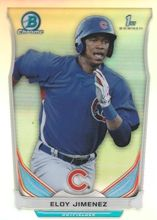 2014 Bowman Draft Top Prospects #CTP-33 Eloy Jimenez - Chicago Cubs
