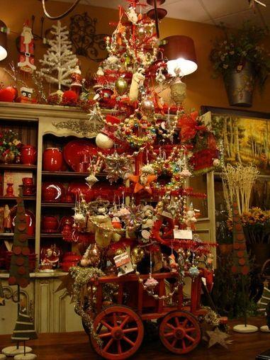 Christmas Tree Already Decorated