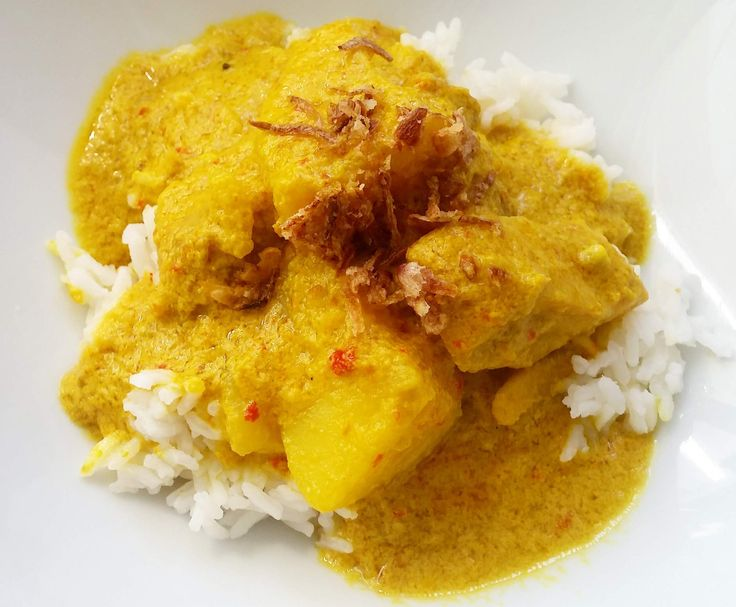 Recipe Kari Ayam - Chicken Curry by Alyssa_Jane - Recipe of category Main dishes - meat