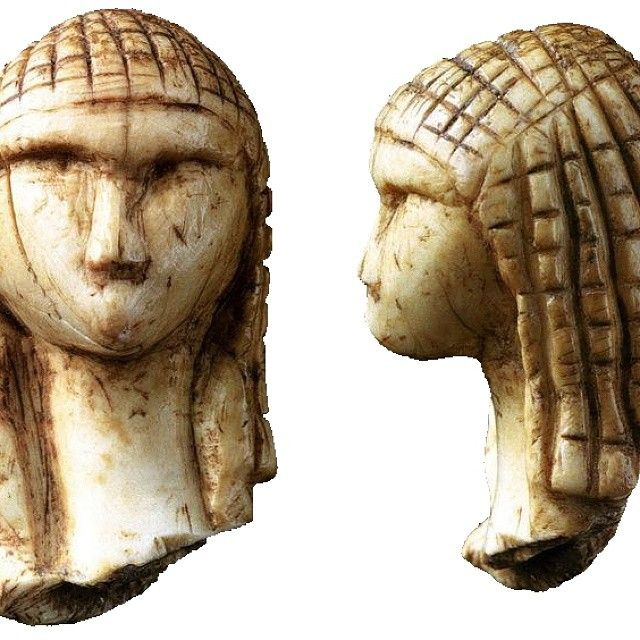 This venus figure from the Paolo Graziosi Prehistoric museum in florence is more than 20,000 years old!