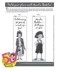 Make Your Own Amelia Bedelia Bookmark More