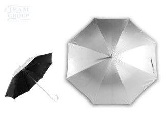 Paraguas de calle de aluminio Silver