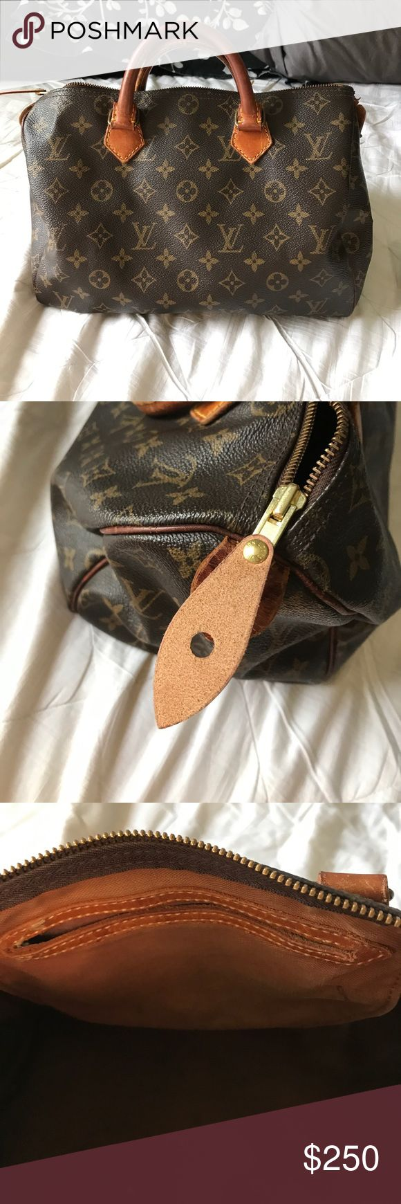 AUTHENTIC Louis Vuitton speedy 30 Great condition. Zipper has been replaced. Authentic Louis Vuitton Bags Hobos