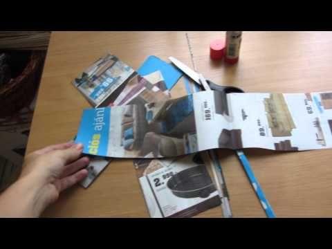 Papírfonás elkezése, papírpálcák készítése