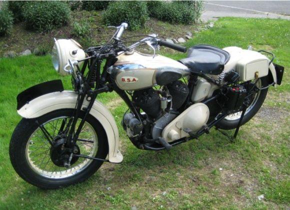 1939 BSA G14 Motorcycle
