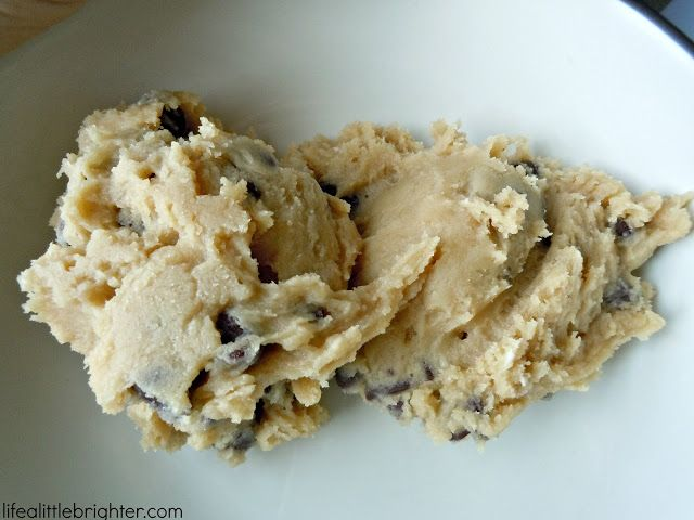 how to make cookie dough less sweet
