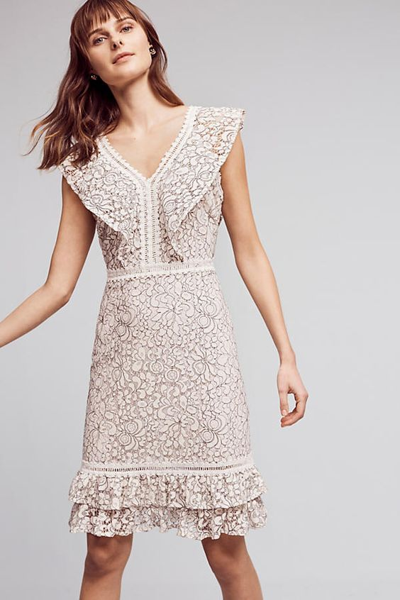 @roressclothes clothing ideas #women fashion Endless Lace Dress
