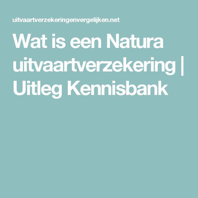 Wat is een Natura uitvaartverzekering | Uitleg Kennisbank