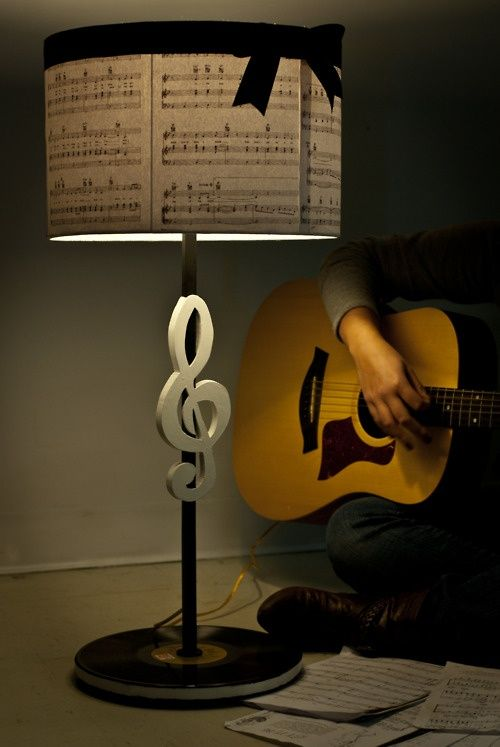 a lamp my sister designed and crafted for a project. marshadesigns !:
