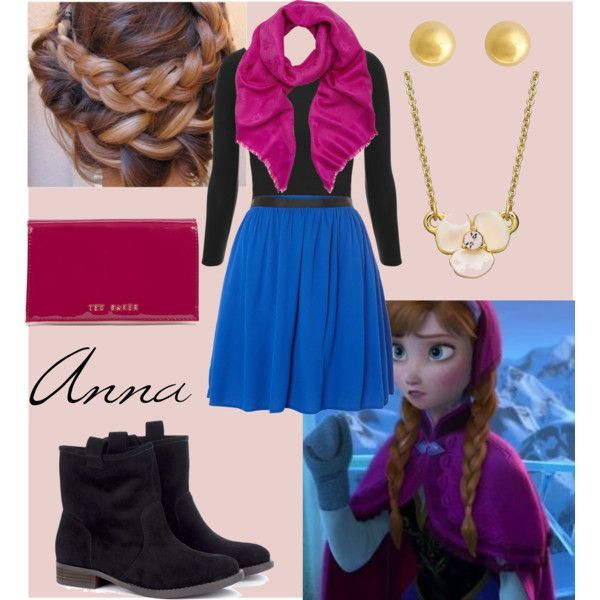 Anna disney outfit
