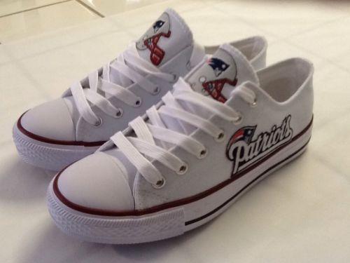 New England Patriots Womans Tennis Shoes