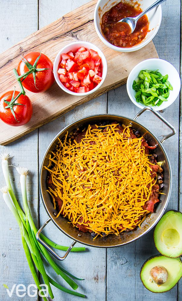 Spice up your weeknights with this Dump Dinner inspired by Chilaquiles Casserole.