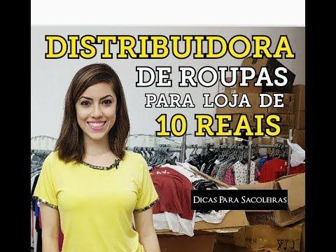 7ba423d58af1 Distribuidora de Roupas para Loja de 10 reais - YouTube | loja de 10 ...