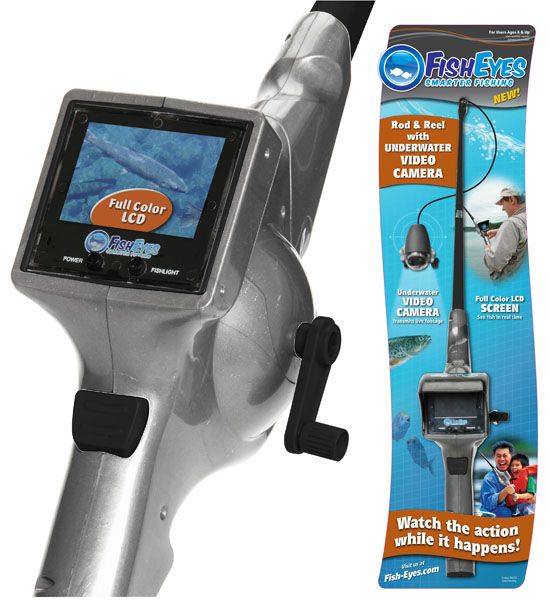 FishEyes Rod and Reel With Underwater Video Camera